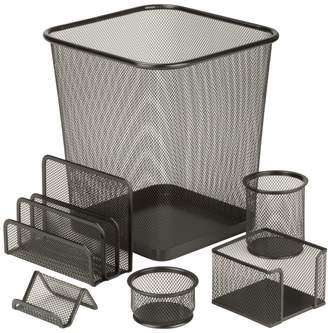 Honey-Can-Do Mesh Desk Set (6 PC)