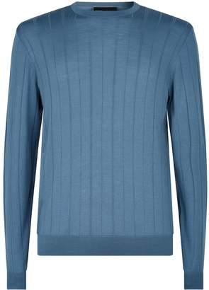 Emporio Armani Wool Stripe Sweater