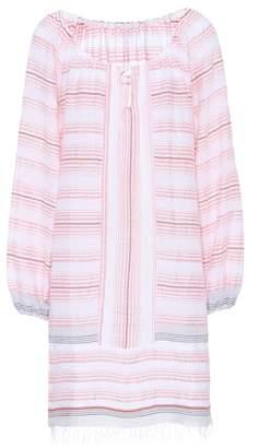 Lemlem Tereza striped cotton-blend dress