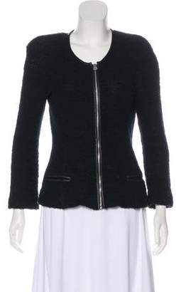 Etoile Isabel Marant Leather-Trimmed Casual Jacket