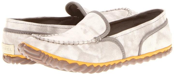 Sorel Tremblant Canvas Moc (Stone) - Footwear