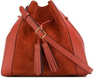 Mulberry Millie suede tassel tote bag