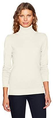 Calvin Klein Women's Solid Turtleneck