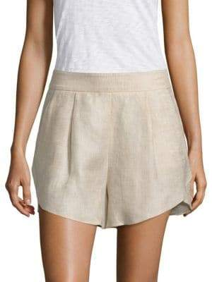 Milly Linen Petal Shorts
