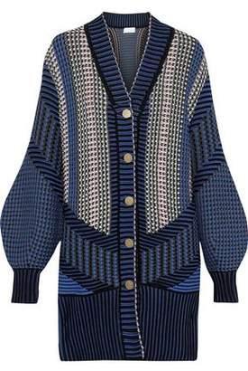 Peter Pilotto Crochet-knit Cotton-blend Cardigan