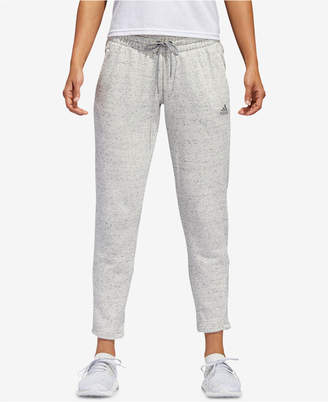 adidas Cotton French Terry Ankle Pants