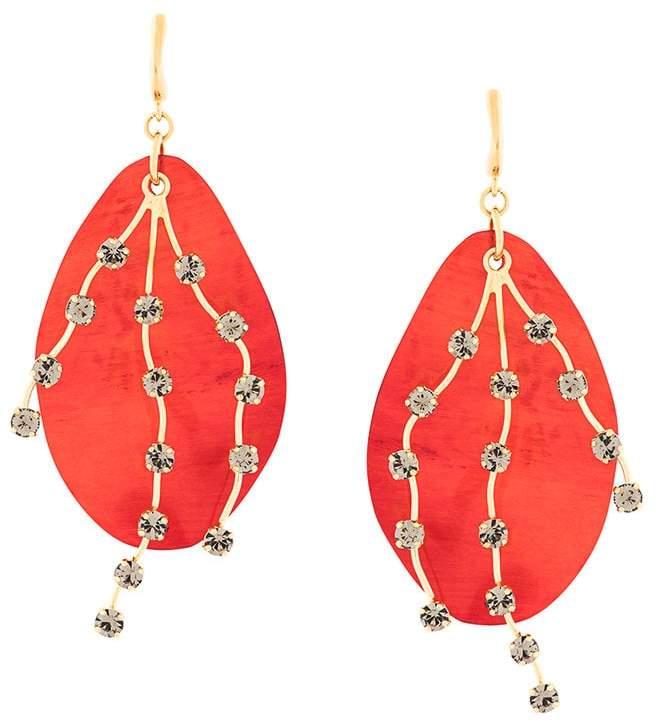 embellished drop earrings aiment france. Black Bedroom Furniture Sets. Home Design Ideas
