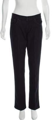 Ralph Lauren Mid-Rise Straight-Leg Jeans