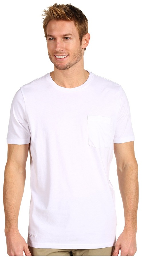O'Neill Jack Collection Surfrider S/S Pocket Tee (White) - Apparel