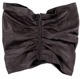 Maison Margiela Leather Zip Belt w/ Tags