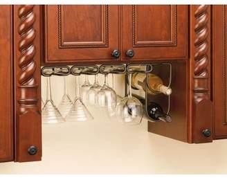 Rev-A-Shelf - 3250ORB - Oil Rubbed Bronze Under Cabinet Double Wine Bottle Rack