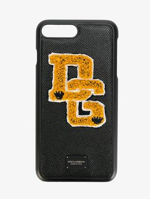 Dolce & Gabbana iPhone 7 Plus Logo Patch Case