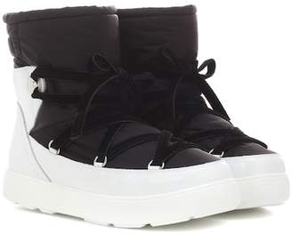 6fb44d90c062 Moncler Black Ankle Boots For Women - ShopStyle Canada