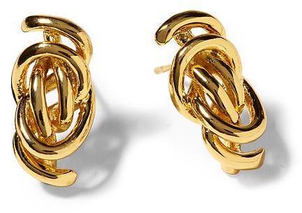 Rachel Zoe Micro Knot Stud Earrings