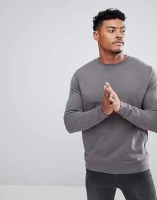 Asos Sweatshirt In Gray