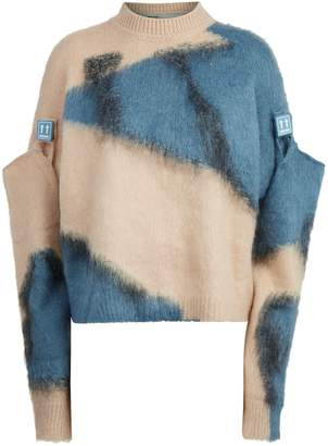 Off-White Off White Colour Block Sweater