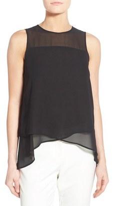 Women's Vince Camuto Asymmetrical Sleeveless Blouse $79 thestylecure.com