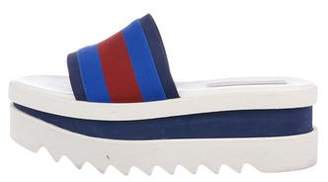 Stella McCartney Platform Slide Sandals