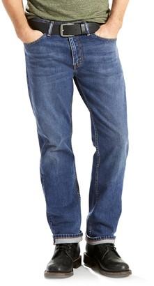 Levi's Levis Men's 505 Regular-Fit Straight-Leg Jeans