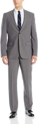 Nautica Men's Two Button Fancy Suit