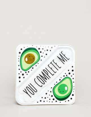 Monki avocado print lunch box