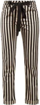 Altuzarra Jacques striped cropped trousers