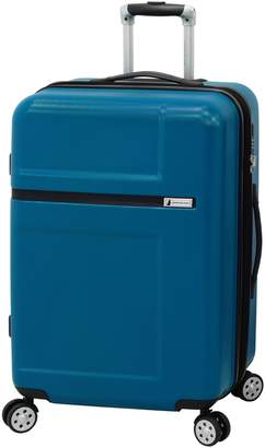 London Fog Southbury 25-Inch Expandable Carry-On Spinner Suitcase