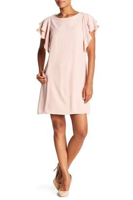 ABS by Allen Schwartz Collection Ruffle Trim Dress