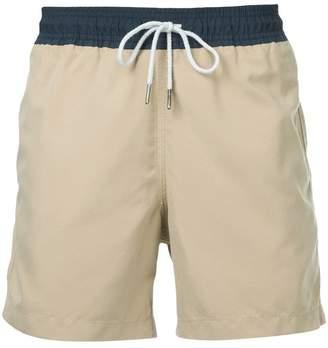 Venroy colour block swim shorts
