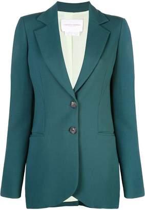 Carolina Herrera longline suit jacket