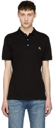 Burberry Black Kenforth Polo