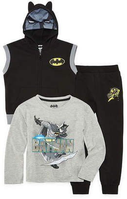 Batman 3-pc. Pant Set-Toddler Boys