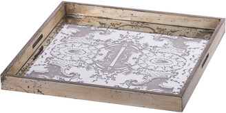 A&B Home Idony Classic Mirrored Tray