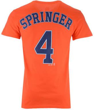 Majestic Men's George Springer Houston Astros Official Player T-Shirt