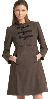 Marc by Marc Jacobs Stretch Wool Flannel Dress