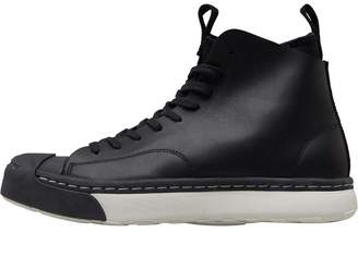 Converse JP Jack Purcell S Series Sneaker Boots Hi Trainers Black/Buff