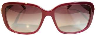 Tiffany & Co. Red Plastic Sunglasses