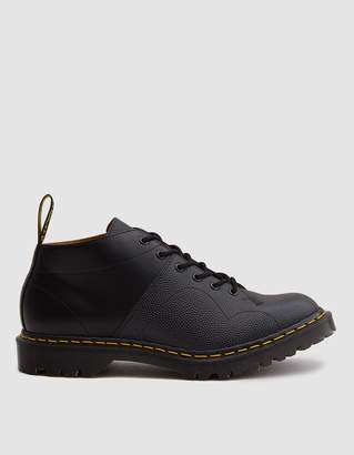 Dr. Martens EG Church Monkey Boot in Black Pebble Leather