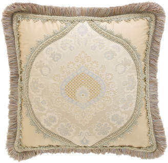 """Sweet Dreams Crystal Palace Medallion-Center Pillow, 15""""Sq."""