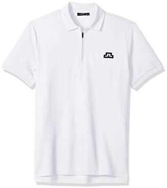 J. Lindeberg Men's Bridge Logo Polo Shirt