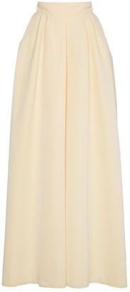 Rochas high waist full maxi skirt