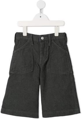 Denim Dungaree twill shorts