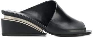 Black Wedge Mules Shopstyle