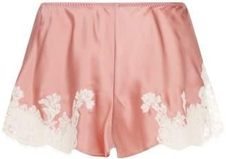 Marjolaine Lace Silk Shorts