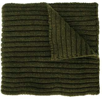 Woolrich Kids knitted scarf