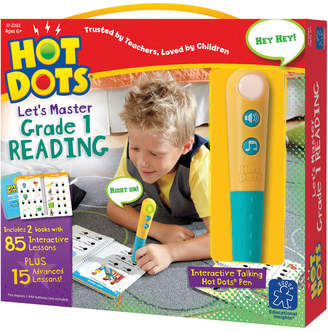 Educational Insights Hot Dots Let's Master 1St Grade Reading Set