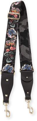 Valentino Camu Butterfly Guitar Strap for Handbag