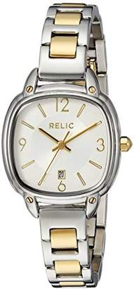 Relic Women's Corrine Quartz Stainless Steel Two-Tone Casual Watch
