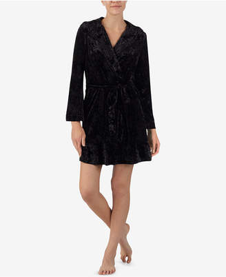 Betsey Johnson Hooded Wrap Robe