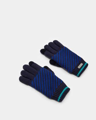 Ted Baker CARLES Striped gloves